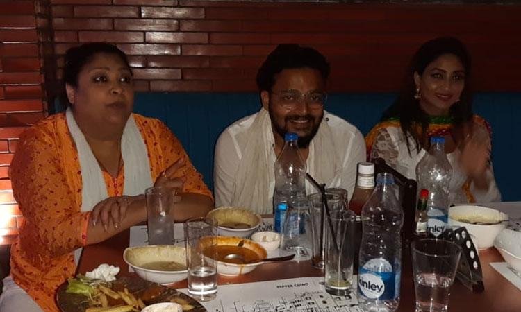Tollywood actor Saurav Das
