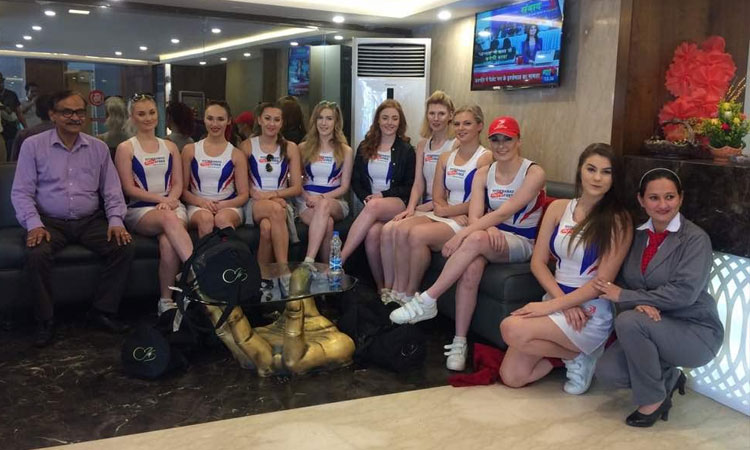 Delhi capitals cheerleaders