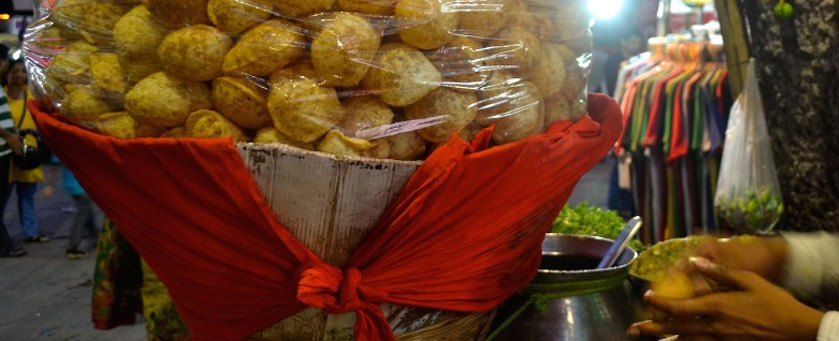 Kolkata Food Puchka